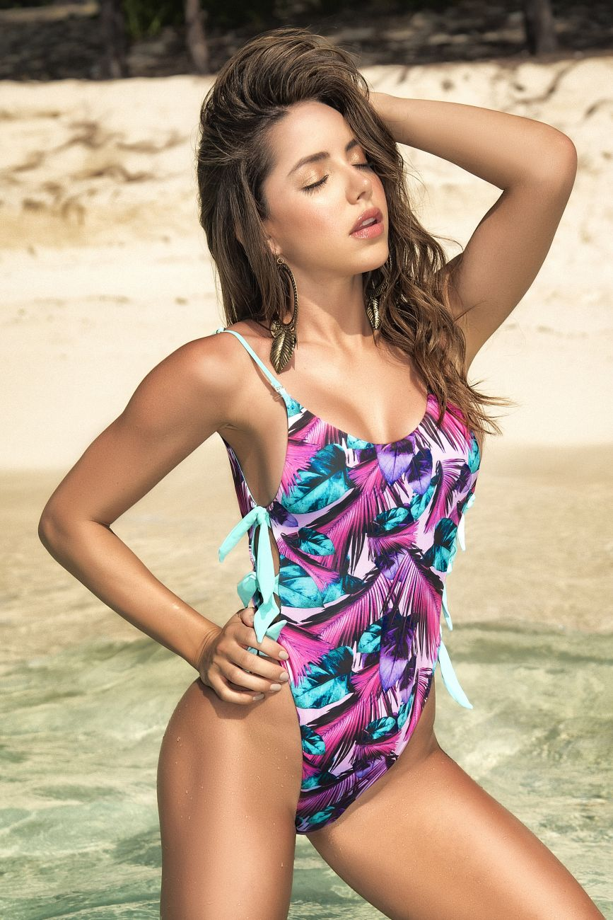 SUSY Reversible One Piece Swimsuit