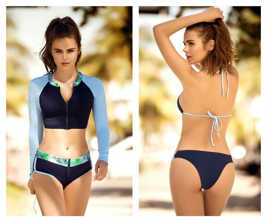 CLAIR Four Piece Swimsuit