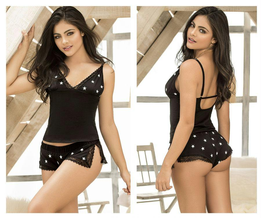 MARIANA Two Piece Top and Short Sleepwear Set