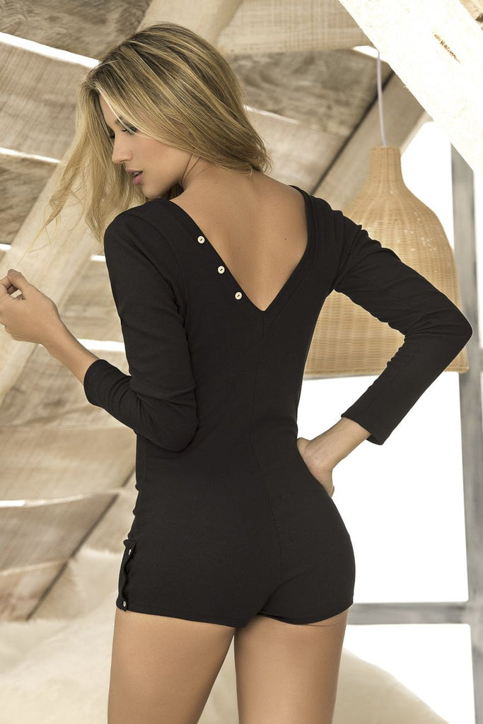 BELINDA Long Sleeve Sleep Romper