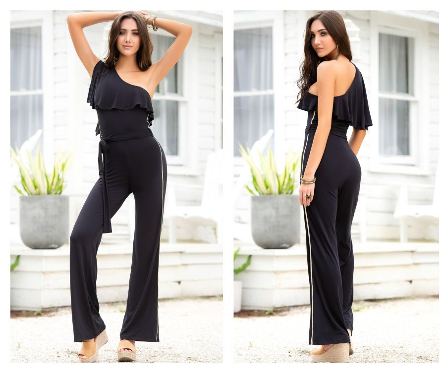 BONNI One Shoulder Jumpsuit