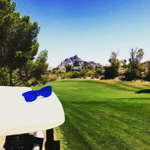 Golf Ball Goggles - The Golf Ball Finding Glasses - At Desert Canyon Golf Club in Fountain Hills Arizona