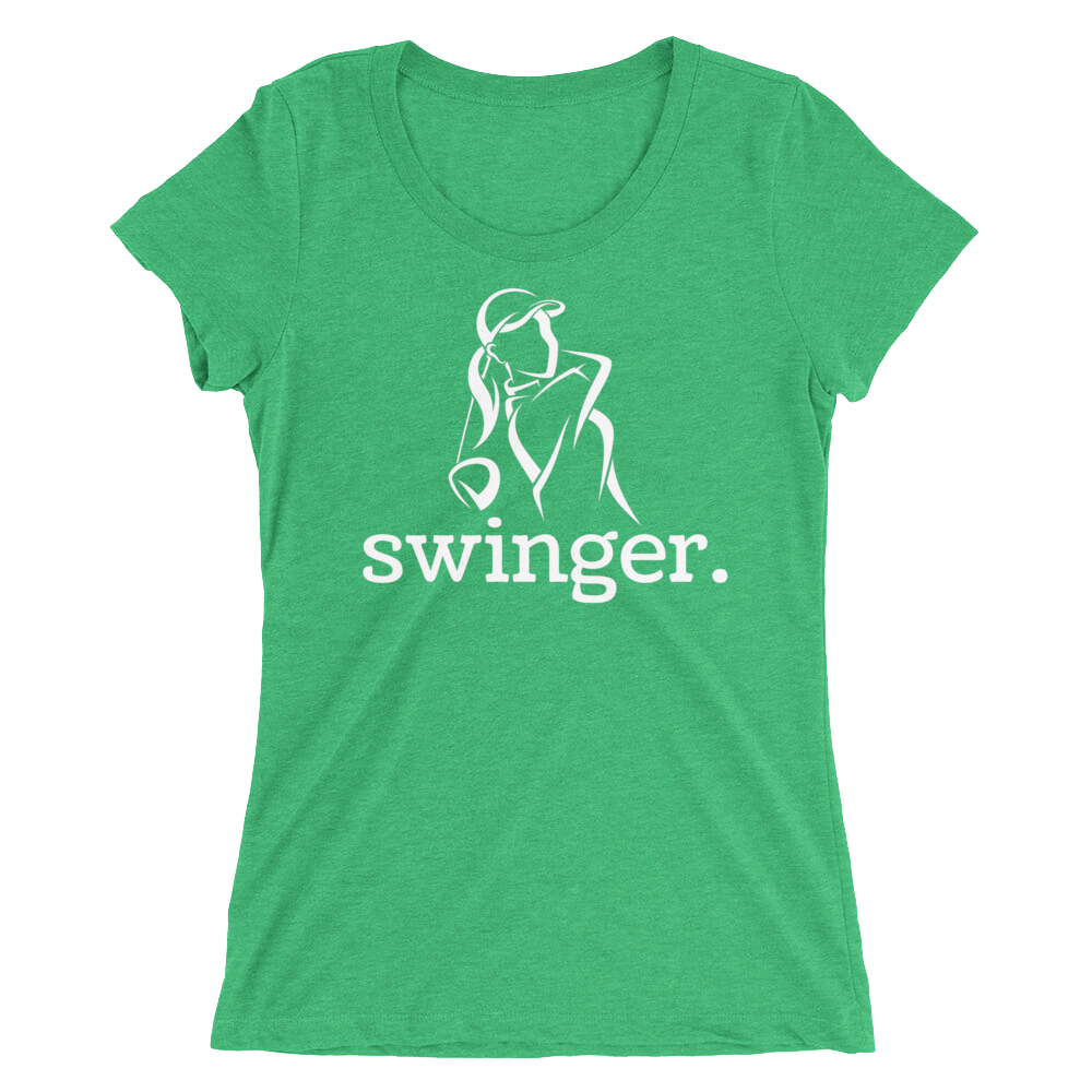 Swinger Golfer Shirt for Females Ladies Women