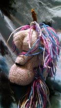 Load image into Gallery viewer, Knit unicorn stuffie