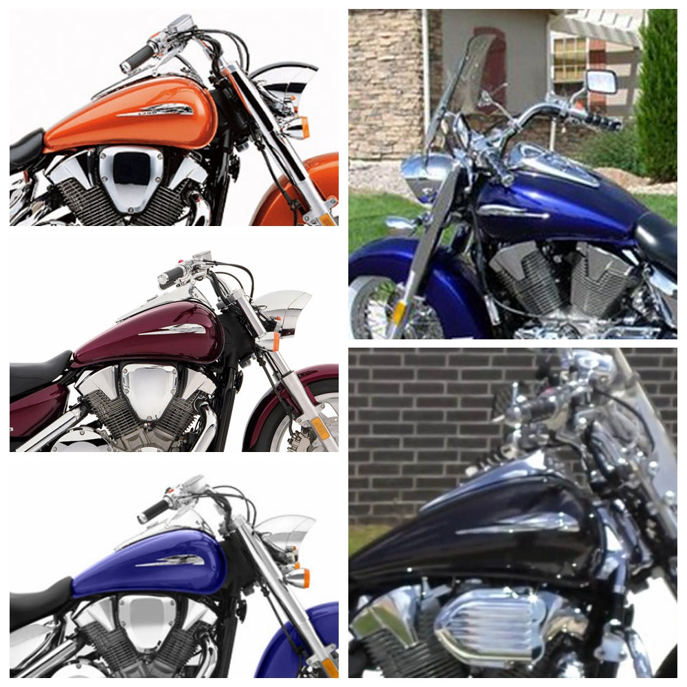 Motorcycle & Powersports Alpha Rider New Chrome Black Motorcycles ...
