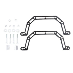 "2003-2007 Polaris Predator 500 Front 4"" Lowering Kit Billet aluminum Bottom Mount - pazoma"