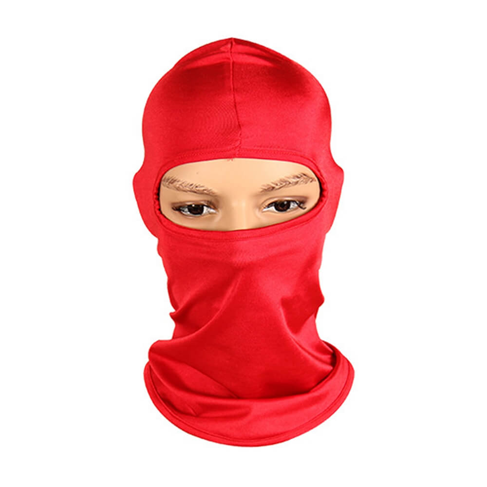 Motorcycle Cycling Ski Neck Protecting Outdoor Balaclava Full Face Guard Cover Thin Breathable Windproof - pazoma