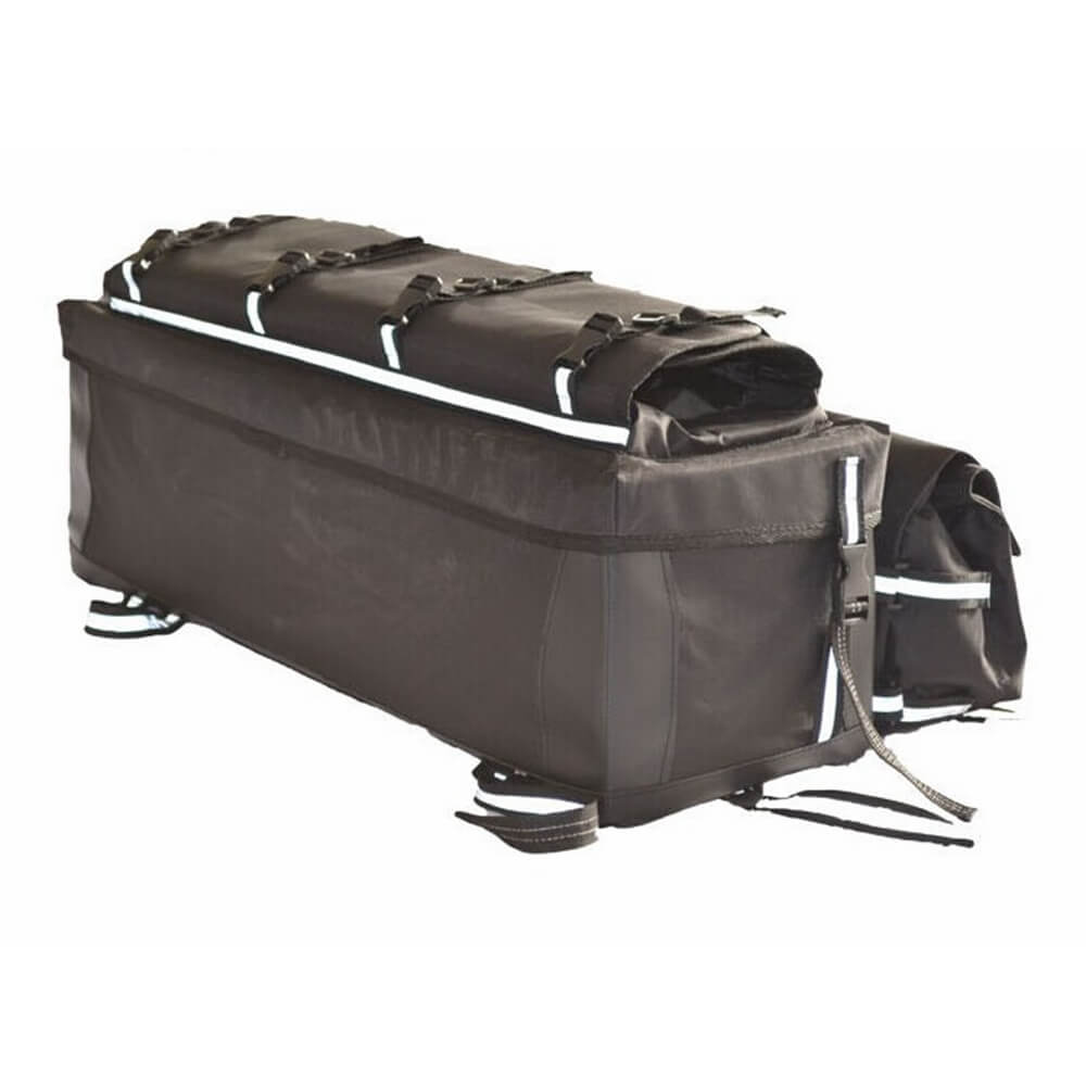 ATV Mountain Bike Rear Shelf Luggage Bag Travel Bag Finishing Storage Bag Large Capacity Accessory Bag Luggage Carrier - pazoma