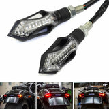 Arrow 3 in 1 Rear Front LED Turn Signal Light w/Brake Taillight Daytime Running Light DRL Blinker Indicators Dirt Street Bike - pazoma