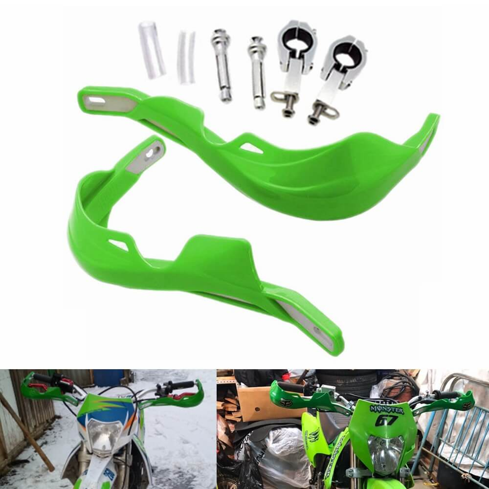 Motocross Motorcycle Off-Road Pit Dirt Bike ATV Handlebar Hand Brush Guards Protector Handguards Kit for Honda Kawasaki Yamaha Suzuki KTM - pazoma