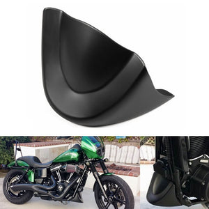 Harley Dyna Street Bob Fat Bob Wide Glide FXD FXDB 2006-2017 Front Chin Spoiler Lower Chin Air Dam Fairing Mudguard Cover - pazoma