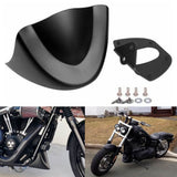 Harley Dyna Street Fat Bob Low Rider Wide Glide FXD FXDB FXDL 2006-2017 Front Chin Spoiler Scrub Fender Accessories Air Fairing - pazoma