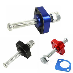 2002-2008 HONDA VFR800 Adjustable Manual Cam Timing Chain Tensioner RED BLUE BLACK 2 PIECE - pazoma