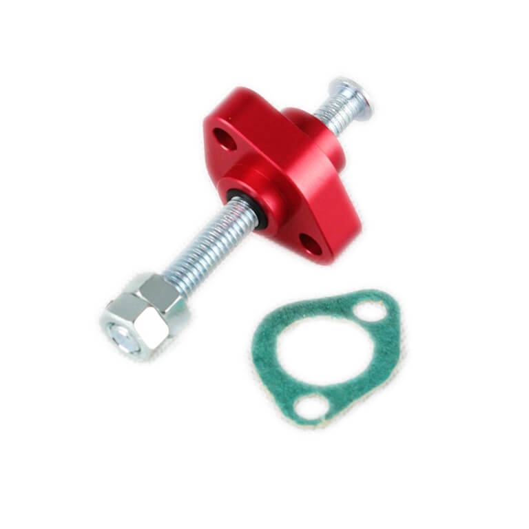 Honda 85-87 TRX 250 Fourtrax 87-92 TRX 250X 93-Up TRX 300EX 87 ATC 250SX 86 ATC 350X ATV Timing Cam Chain tensioner manual adjuster CCT - pazoma