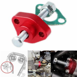 ATV Timing Cam Chain tensioner manual adjuster CCT Honda 85-87 ATC 250ES Big Red 04-05 TRX 450R 03-05 TRX 650 Rincon 06-11 TRX 680 Rincon - pazoma