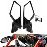 Can-Am Maverick X3 R Max SSP Turbo DPS Rearview Mirror Left & Right UTV Off-road Racing Side Mirrors Kit 2017-2019 Black 715002898 - pazoma