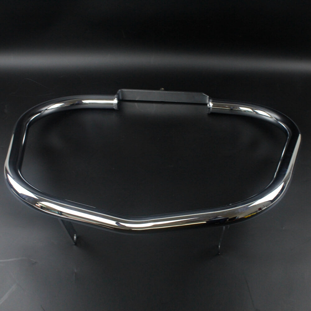 "Honda VTX1800 VTX1800R VTX1800S '02-'08 EXTRA THICK 38mm 1-1/2"" Chrome Fat Bar Extreme Engine Guard Highway Crash Bar Bumper Protection - pazoma"