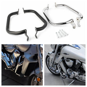 Motorcycle Frame Engine Protector Guard Highway Crash Bar for Suzuki Boulevard M109R 2006-2017 - pazoma