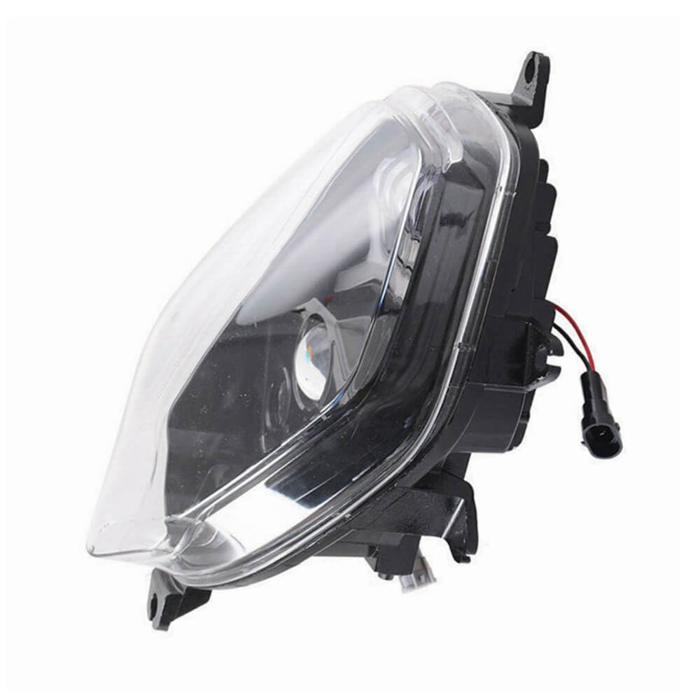 LED Headlight Head Lamp w/ Halo DRL High Low Beam for SUZUKI V-Strom 650 / 1000 DL1000 DL650 2014-2021 E-MARK Approved - pazoma