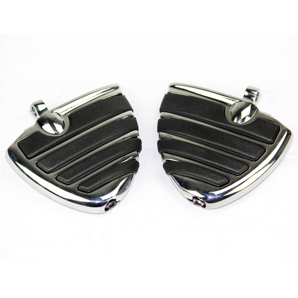 Motorcycle Mount-Style Wing Style Foot Rests FootPegs For Harley Touring Road King Electra Glide Softail GoldWing V-Rod - pazoma