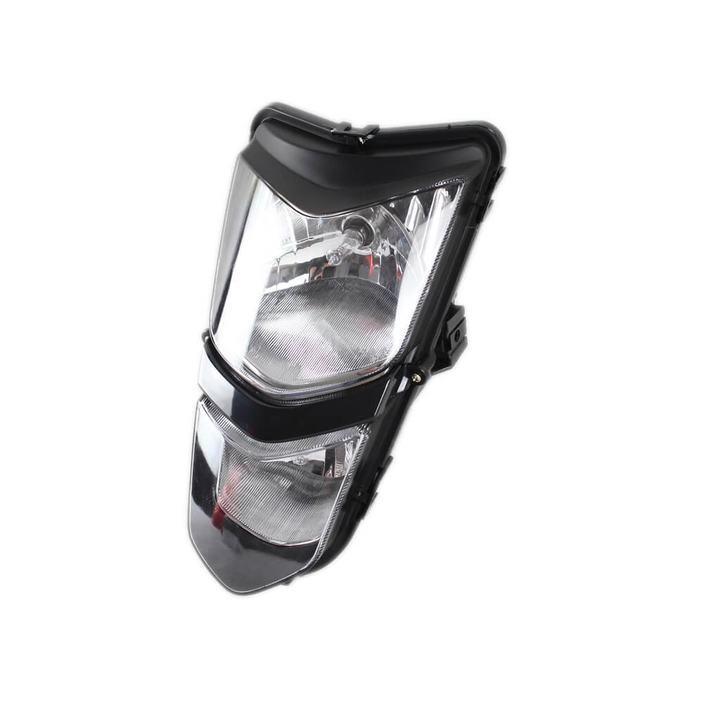 Suzuki ATV Quadsport LTZ 400 LTZ 400 Z 2003-2008 Kawasaki 2003-2006 KFX400 KSF400 New Headlights Headlamp Assembly 35100-07G00-30H 23004-S002-503 - pazoma