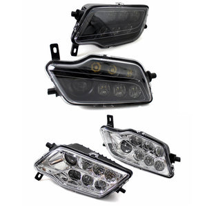 2016-2020 Honda Pioneer 500 / 700 1000 P500 P700 LED Headlights Conversion Kit High Low Beam Replacement Headlamp - pazoma