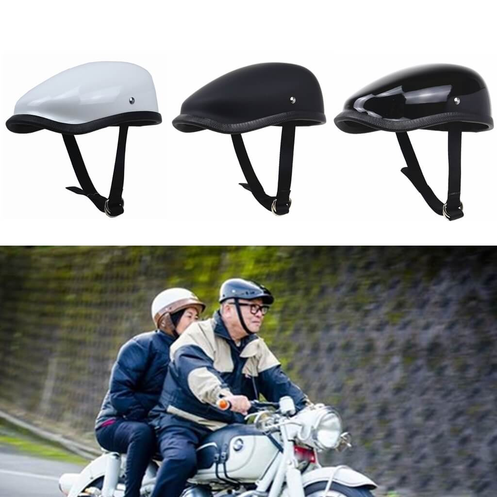 Lightweight Motorcycle Helmet >> Leisure Style Motorcycle Helmet Half Face Retro Motorbike Helmet Vintage Berets Design Light Weight For Man And Woman Tt Co