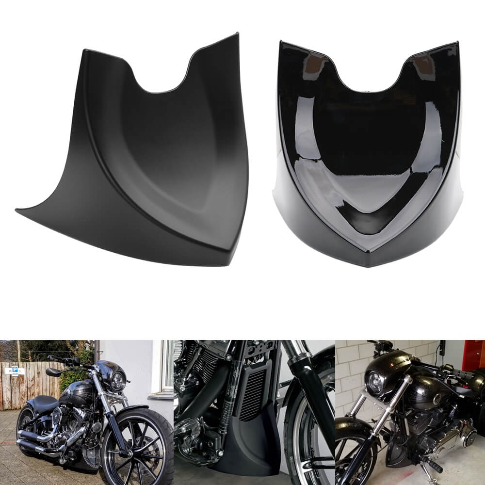 Chin Fairing Front Spoiler Mudguard For Harley Dyna Fatboy Softail Touring Glide 96-17 Air Dam Fairing Cover - pazoma