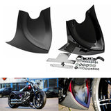 Chin Fairing Front Spoiler Mudguard For Harley Dyna Fatboy Softail Touring Glide 96-17 Air Dam Fairing Cover
