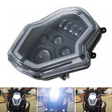LED Headlight Assembly Headlamp With Daylight Running Light DRL For KTM 1050/1090/1190/1290 ADVENTURE - pazoma