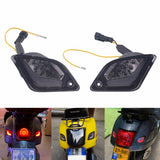 LED Indicator Rear Turn Signal With Running Light Lamp for Vespa GTS Super GT GTV 125 200 250 300cc GT60 ABS 2003-2020 Left & Right - pazoma
