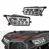 2014-2020 Polaris RZR 1000 XP Turbo RZR 900 General Conversion LED Headlights Kit Replacement Headlamp - pazoma