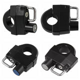Motorcycle Universal Helmet Lock Anti-Theft For 25mm Engine Crankcase Crash Bar Motorbike Handlebars - pazoma