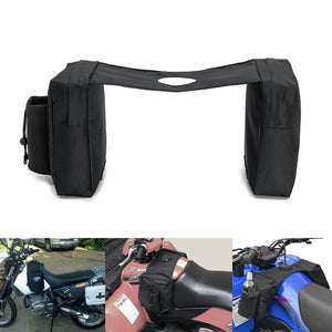 Motorcycle ATV Quad Bike Snowmobile Fuel Gas Tank Saddle Bag Waterproof Durable Pocket Storage for Outdoor Camping Travel Shipping - pazoma