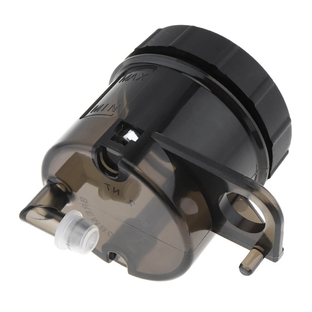 Universal Motorcycle Front Brake Clutch Fluid Bottle Master Cylinder Oil Reservoir Tank Cup 45cc 90° For Honda Suzuki Kawasaki YAMAHA Ducati Brembo - pazoma