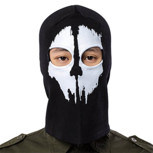 Motorcycle Ghost Face Guard Cover Skull Balaclava Cycling Full Face Airsoft Game Cosplay Outdoor Sports - pazoma