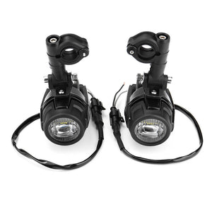 Motorcycle fog lights For BMW R1200GS ADV F800GS F700GS F650GS K1600 LED Auxiliary Fog Light Assembly Driving Lamp 40W - pazoma