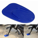 2PCS Motorcycle Kickstand Pad Kick Stand Coaster Support Plate Side Stand Plate Helps Park Your Bike on Hot Pavement Grass Soft Ground - pazoma