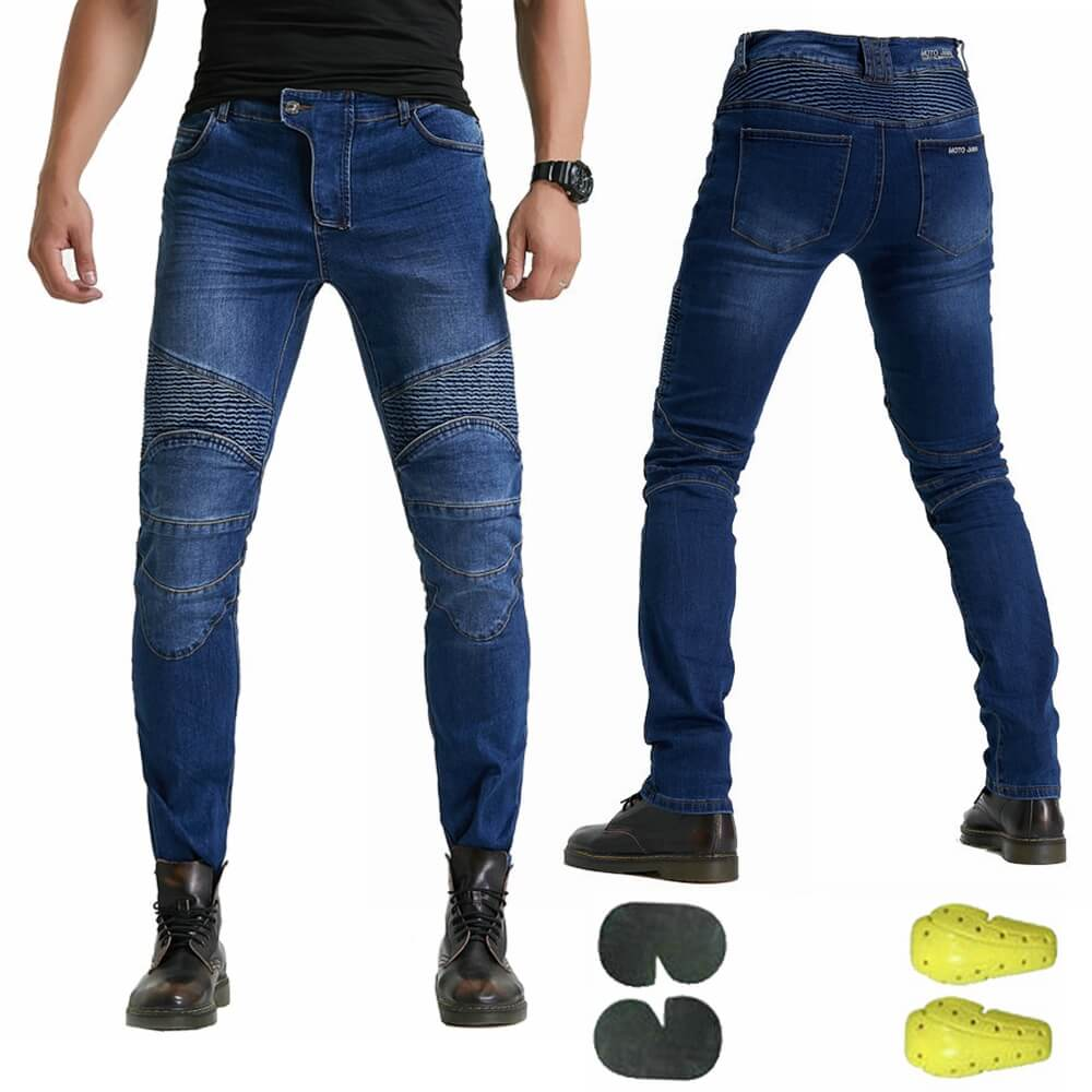New 2020 Motorcycle Pants Men Moto Jeans Protective Gear Riding Touring Motorbike Trousers Motocross Pants Pantalon Moto Pants - pazoma