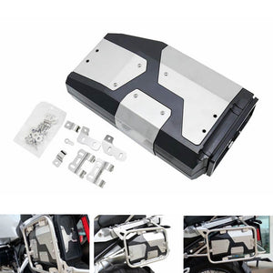 BMW R1250GS R1200GS LC & ADV Adventure R 1200 GS Tool Box  Decorative waterproof Box Liters 4.2 Liters Left Side Bracket Aluminum Toolbox - pazoma