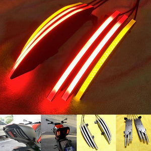 Ducati Diavel 2011-2018 Rear LED 3 in 1 Taillight Run/Turn/Brake Signals Light Lamps Integrated Blade style - pazoma