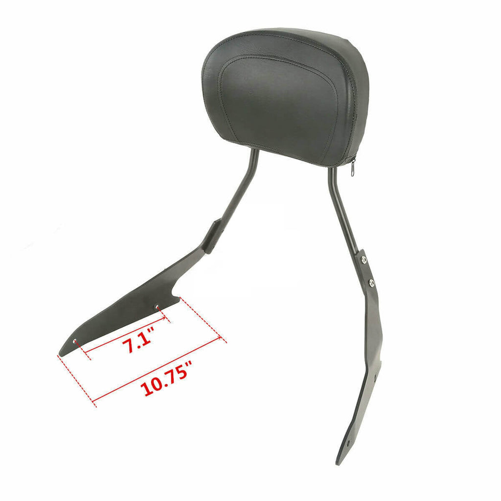 New Motorcycle Detachable Sissybar Sissy Bar Backrest For Suzuki Boulevard M109R Models M1800R VZR1800 2006-2019 - pazoma