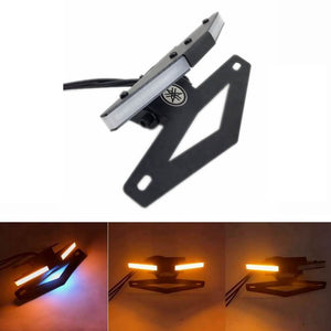 YAMAHA YZF R1 2015-2019 LED Tail Tidy Stealth Fender Eliminator Kit Integrated Turn Signals License Plate Light Bracket - pazoma