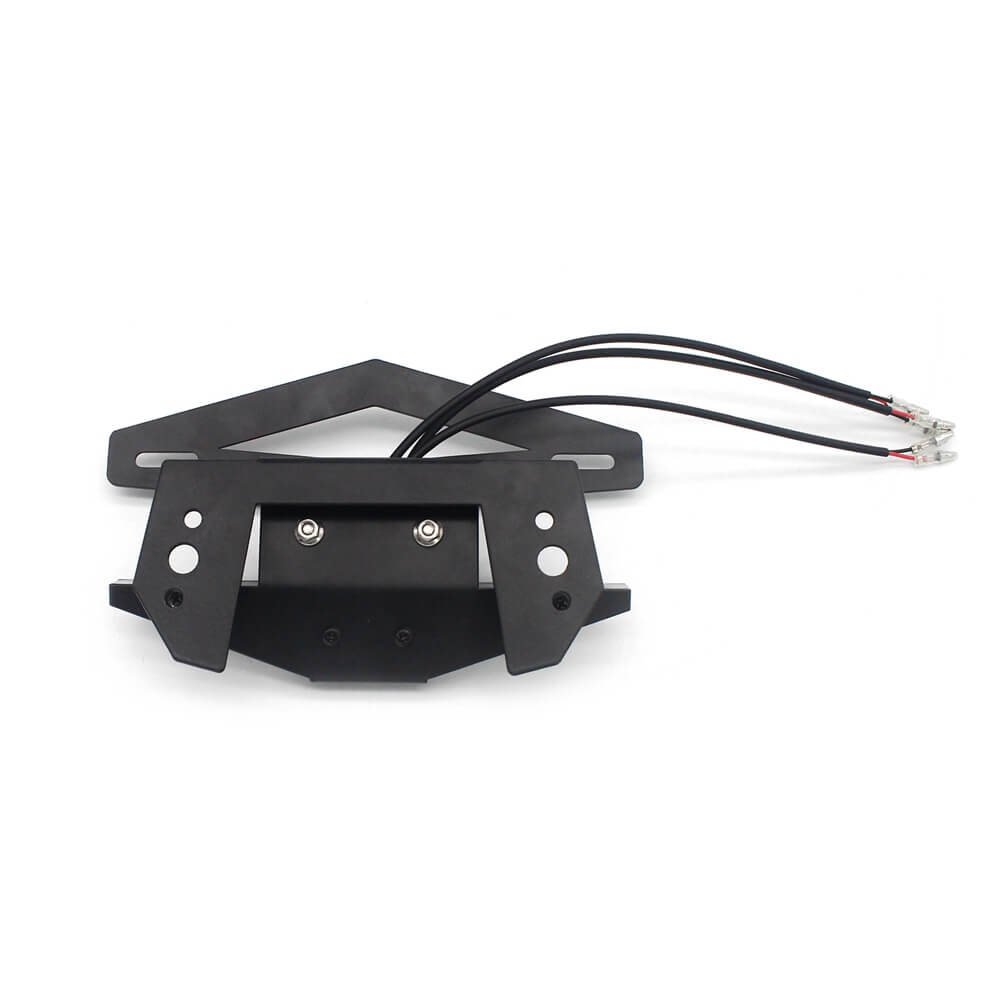 Honda CBR650R CB650R 2019-2020 LED Tail Tidy Stealth Fender Eliminator Kit Integrated Turn Signals License Plate Light Bracket - pazoma