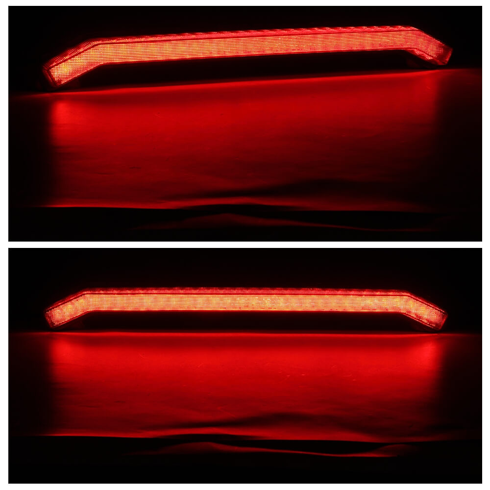 Polaris UTV ATV LED Center Taillight 2413431 Polaris Side by Side RZR XP TURBO S RS1 1000 4 R02 PS MD R01 SPORTSMAN R03 2017-2020 - pazoma