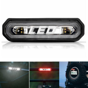 UTV Industries Chase Rear Facing LED Light Taillight For Can Am Maverick X3 Polaris RZR PRO XP 1000 800 900 2020 Jeep truck 90133 - pazoma