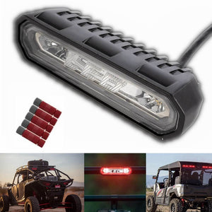 "1.75 - 2"" Roll Bar UTV Chase High Mount LED 3rd Brake Tail Light For Can Am Maverick X3 Commander Polaris RZR 1000 800 900 XP Ranger - pazoma"