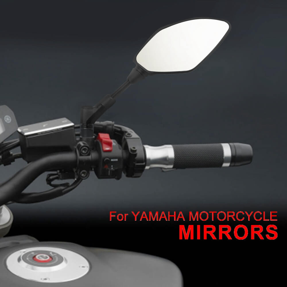 E24 Certification Side Rear Mirror For YAMAHA MT 01/03/07/09/10 TRACER 900/GT MT03 660 Adjustable Rearview Mirrors - pazoma