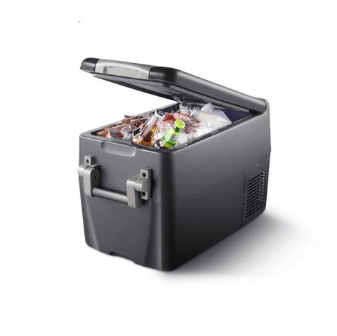 32 Quarts 30L Portable Electric Car Electric Cooler/Warmer Refrigerator/Freezer Compressor Camping Portable Mini DC & AC Power Quick Cooling Car Truck - pazoma