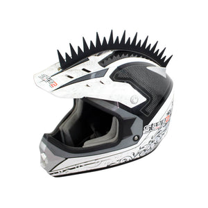 pazoma Motocross Helmet Sticker Mohawks Spikes Motorcycle Capacete Decoration uneven style - pazoma